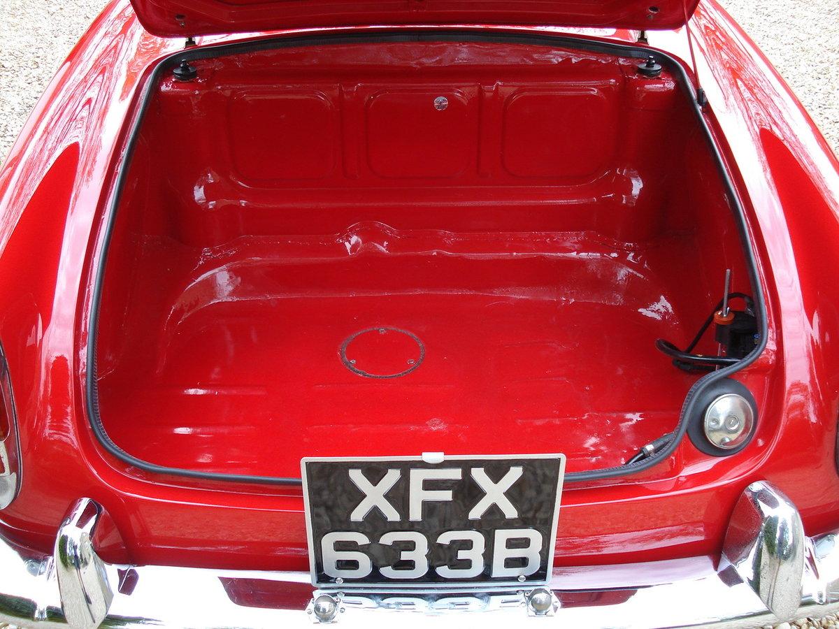 1964 LHD Alfa Romeo Giulia Spider For Sale (picture 5 of 6)