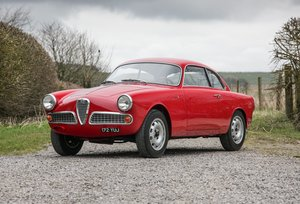 1960 Alfa Romeo Giulietta Sprint show standard condition For Sale