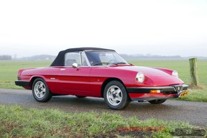 1988 Alfa Romeo Spider 1600 Aerodinamica  For Sale