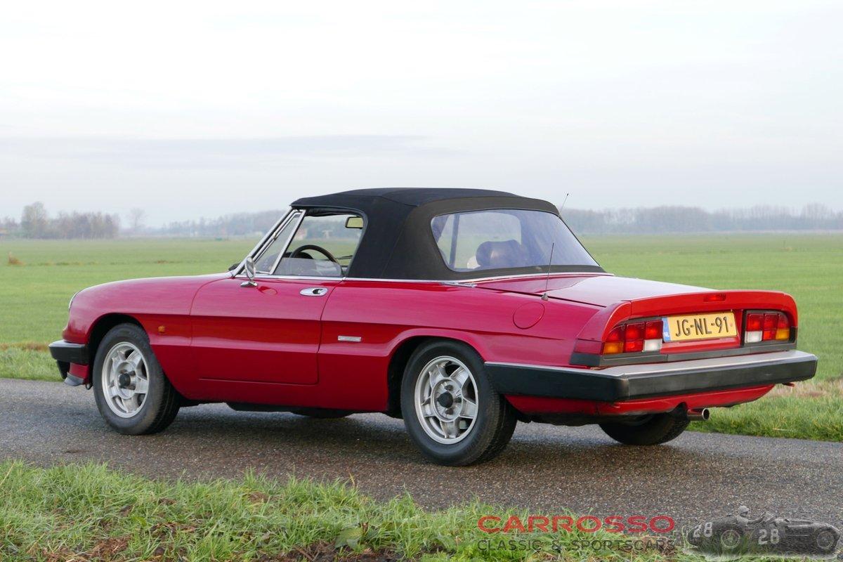 1988 Alfa Romeo Spider 1600 Aerodinamica  For Sale (picture 2 of 6)