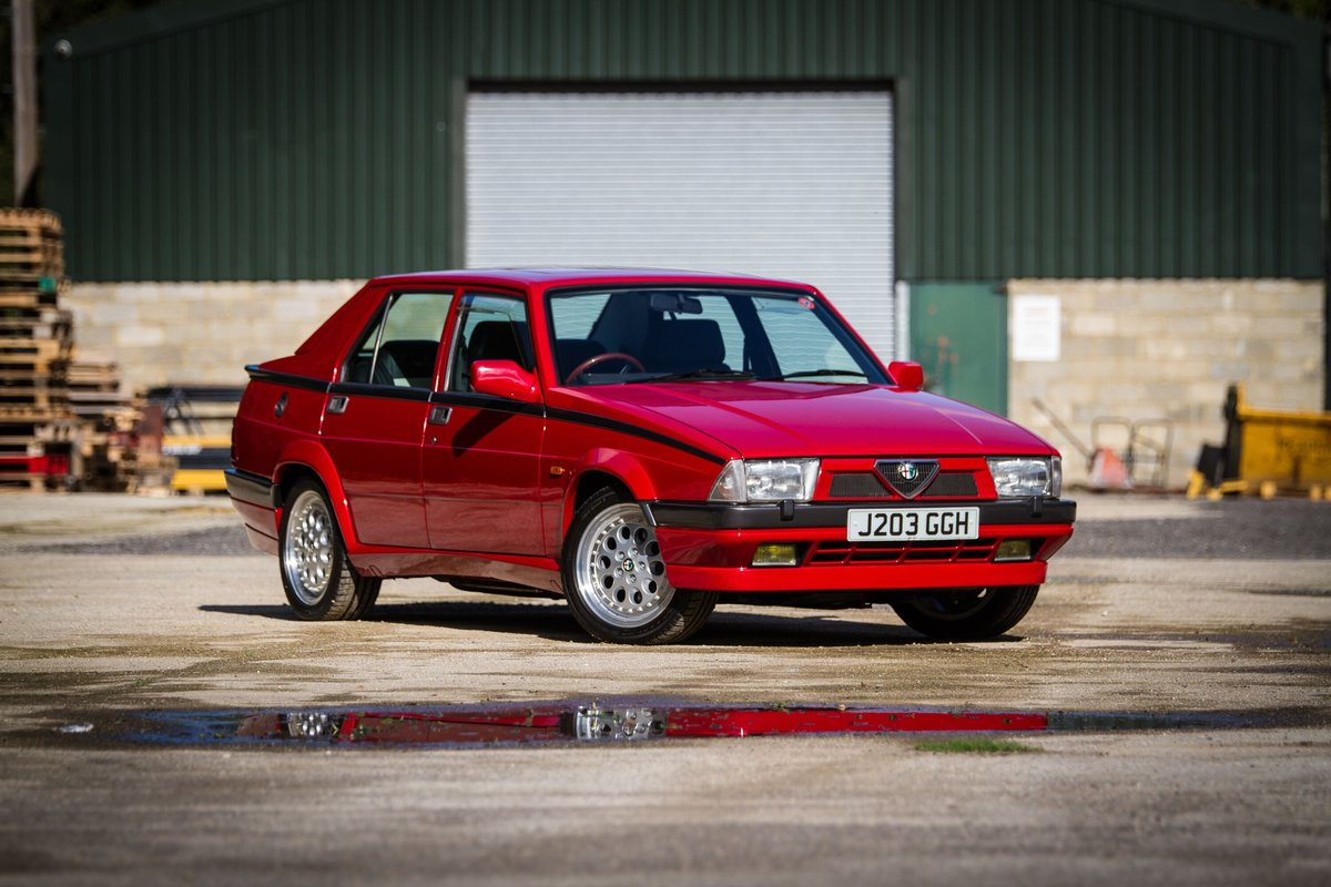 1992 Alfa Romeo 75 2.0 Twinspark Fully Restored LOVELY SOLD (picture 1 of 6)