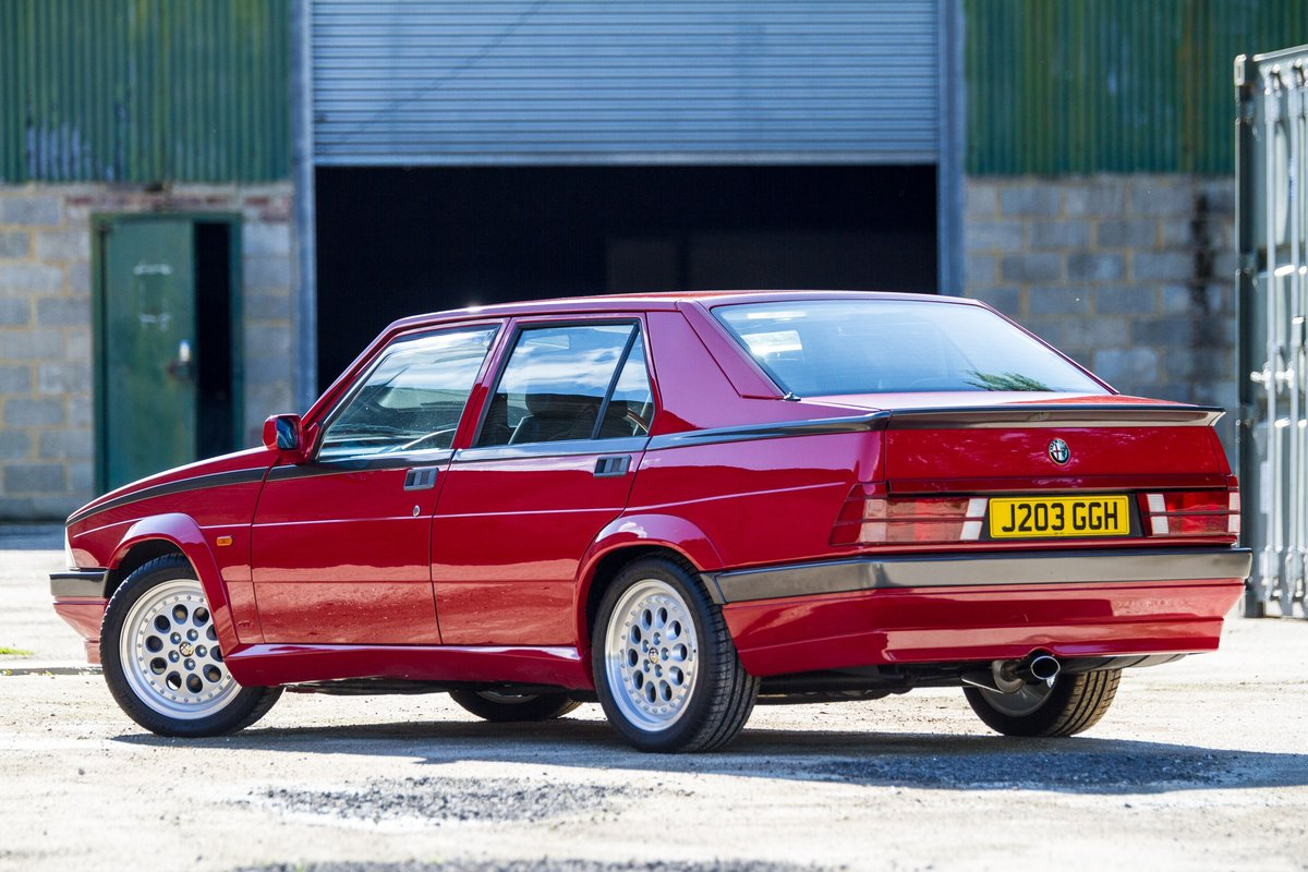 1992 Alfa Romeo 75 2.0 Twinspark Fully Restored LOVELY SOLD (picture 3 of 6)