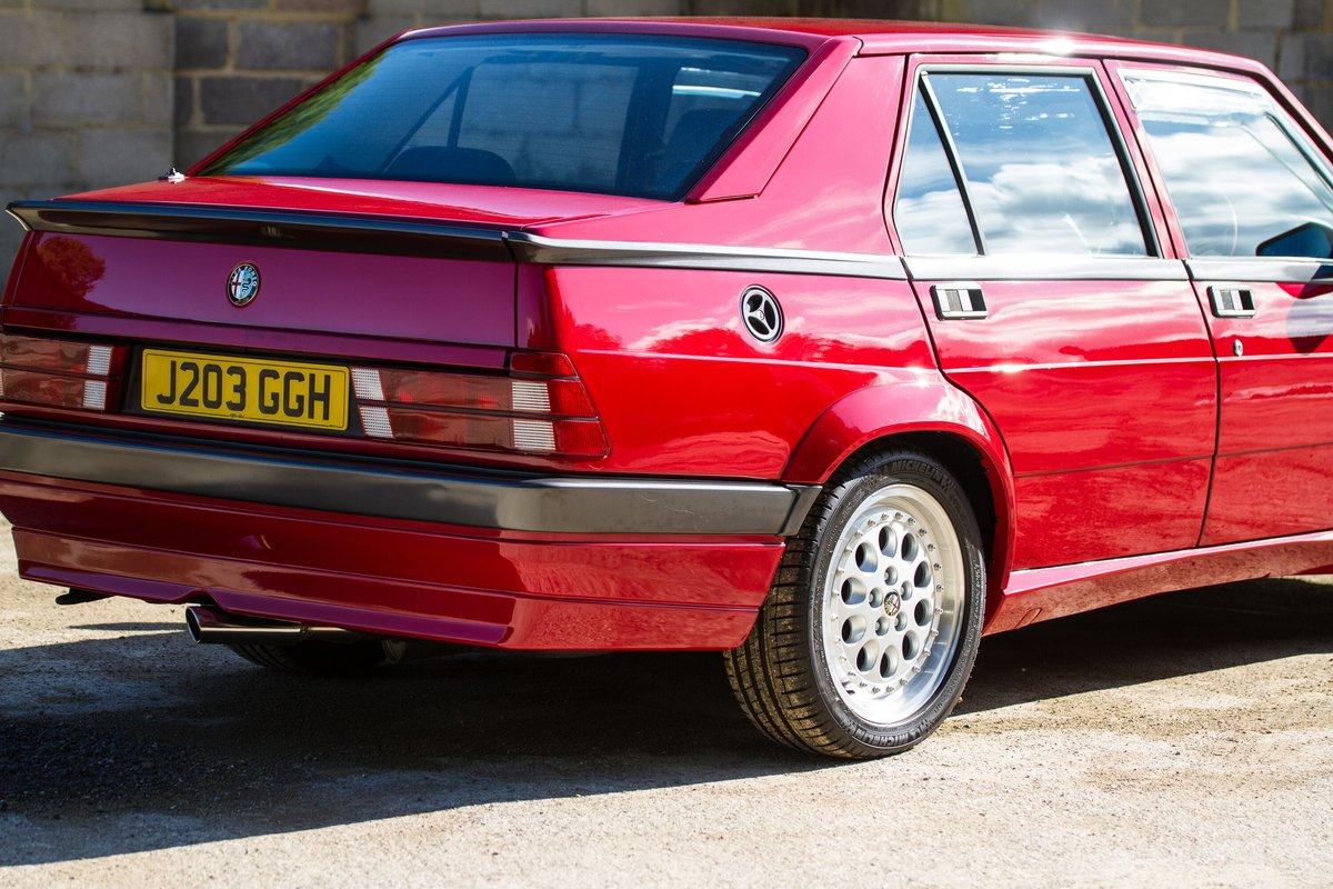 1992 Alfa Romeo 75 2.0 Twinspark Fully Restored LOVELY SOLD (picture 5 of 6)