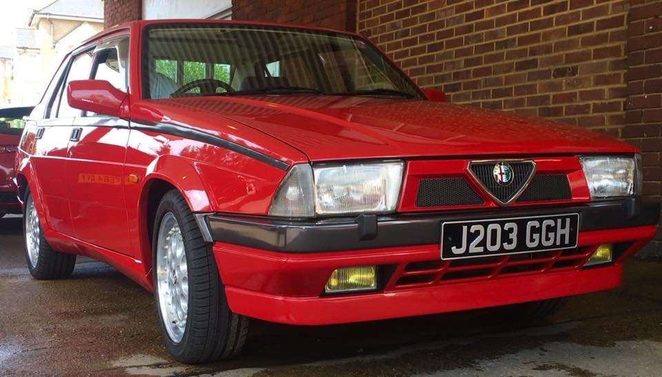 1992 Alfa Romeo 75 2.0 Twinspark Fully Restored LOVELY SOLD (picture 6 of 6)