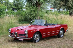 Alfa Romeo 2000 Spider by Touring 1960 LHD