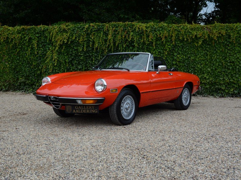 1978 Alfa Romeo Spider 2000 Veloce For Sale (picture 1 of 6)