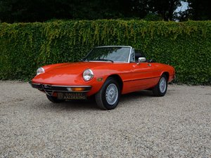 1978 Alfa Romeo Spider 2000 Veloce For Sale