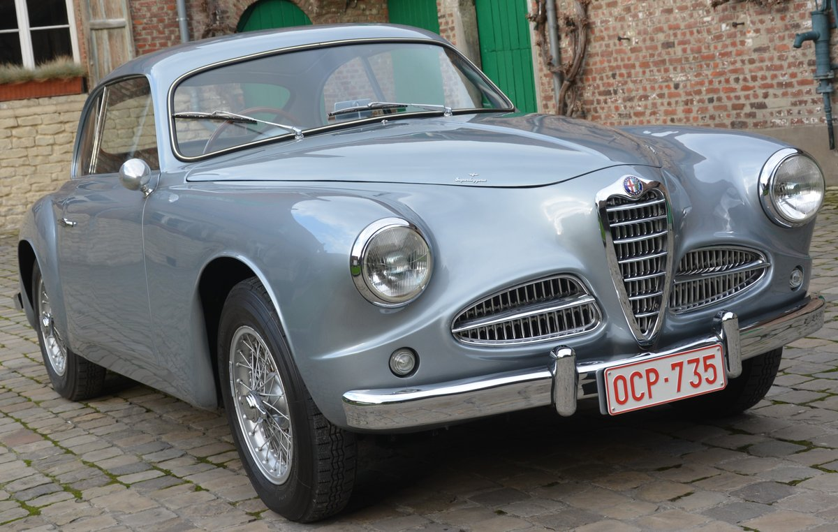1953 exquisitely restored Alfa 1900 Coupé  For Sale (picture 1 of 4)
