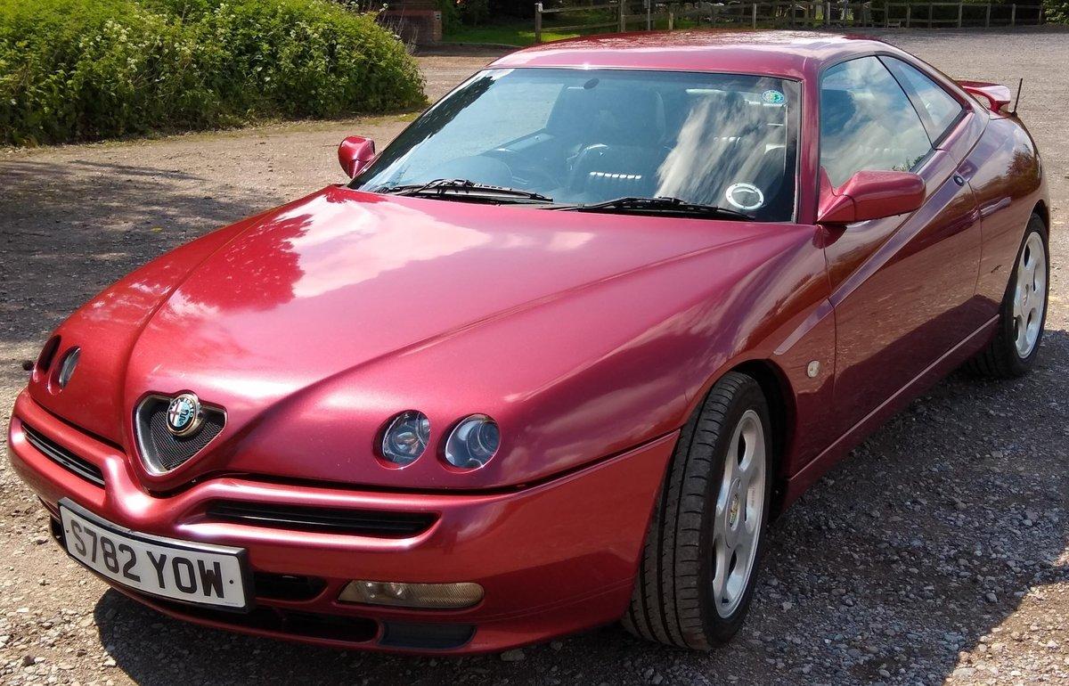 1998 Alfa Romeo GTV 3.0 V6, Q2 Diff, AutoDelta remap For Sale (picture 1 of 6)