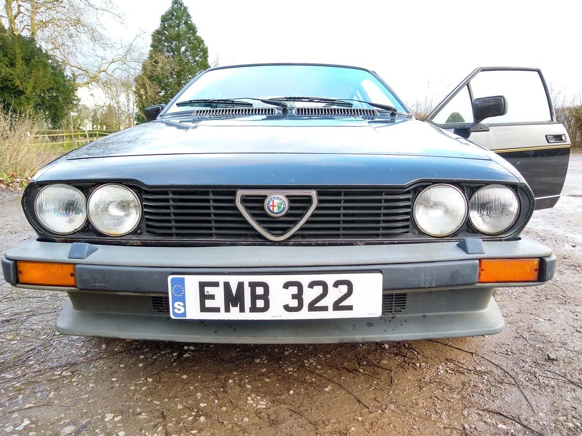 Alfa Romeo Alfetta GTV 1982 2.0 Black For Sale (picture 3 of 6)