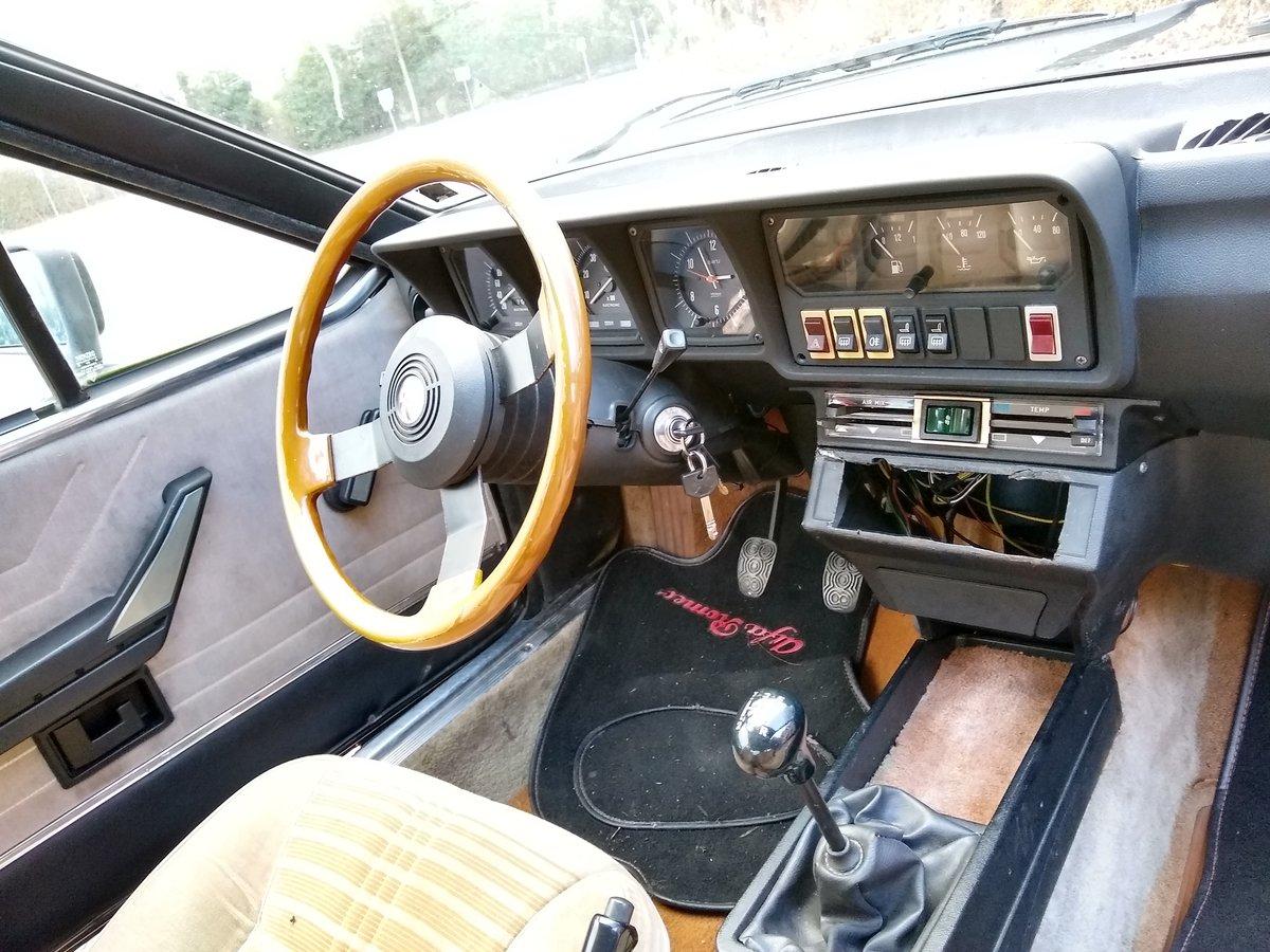 Alfa Romeo Alfetta GTV 1982 2.0 Black For Sale (picture 5 of 6)