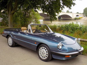 1988 ALFA ROMEO S3 SPIDER 2000 SOLD