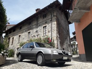 1988 As new alfa 164 3.0 V6 with 64 k km! For Sale