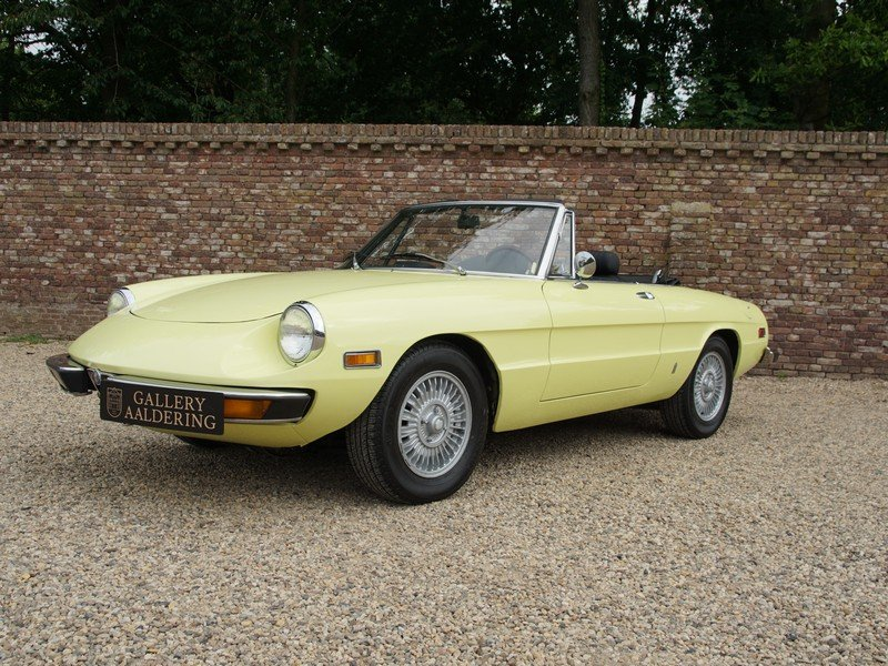 1974 Alfa Romeo Spider 2000 owned by one family, documented from  For Sale (picture 1 of 6)