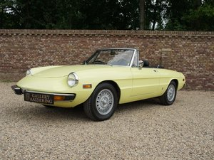 1974 Alfa Romeo Spider 2000 owned by one family, documented from  For Sale