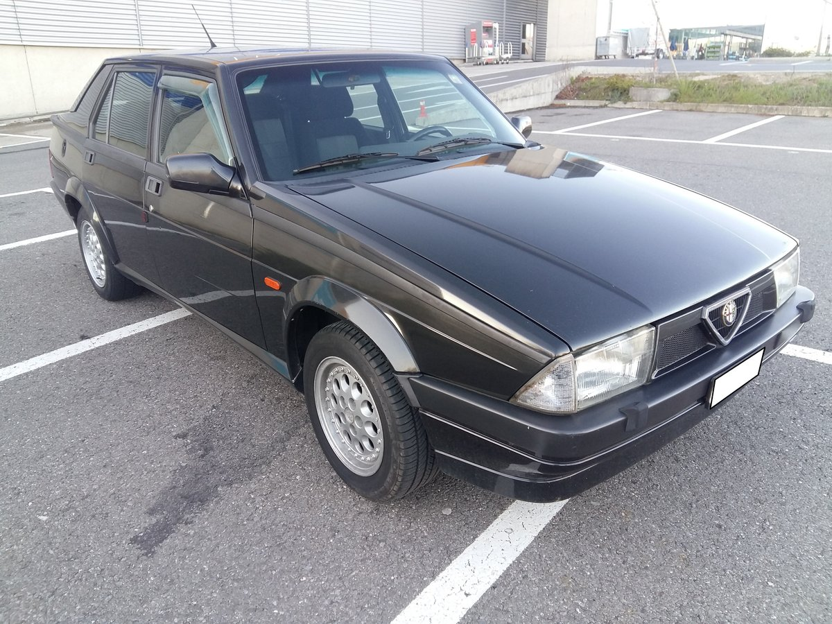 1991 Alfa Romeo 75 Twin Spark Limited For Sale (picture 1 of 6)