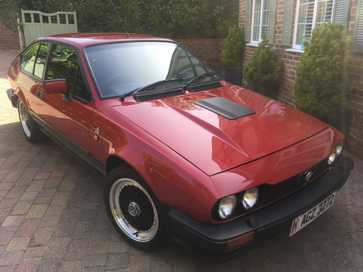 1984 GTV 6 3.0 LITRE  SOLD (picture 1 of 6)