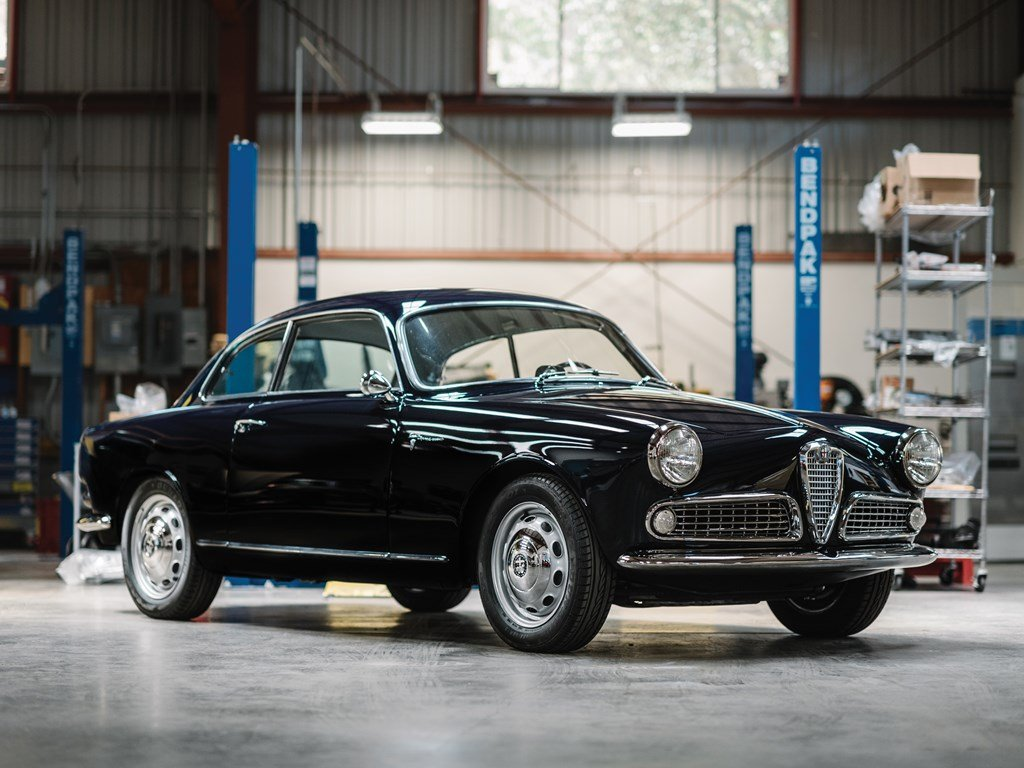 1958 Alfa Romeo Giulietta Sprint Veloce by Bertone For Sale by Auction (picture 1 of 6)