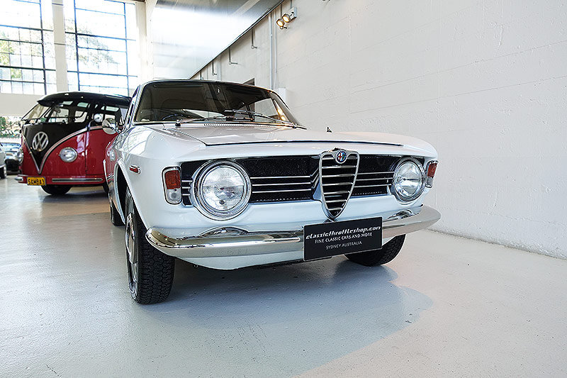 1967 AR Giulia Sprint GT Veloce, super original, unrestored, RHD For Sale (picture 1 of 6)