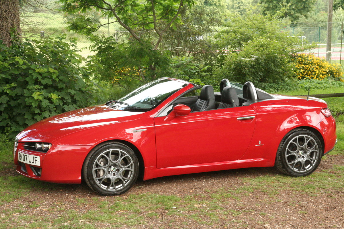 2007 Alfa Romeo Spider 3.2 JTS Q4 manual type 939 For Sale (picture 6 of 6)