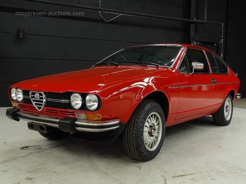 1980 ALFA ROMEO GTV For Sale by Auction (picture 1 of 6)