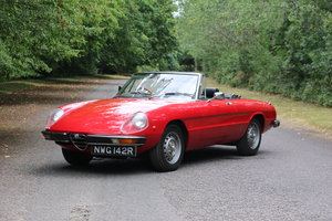 1965 Alfa Romeo 2000 Spider for self drive hire