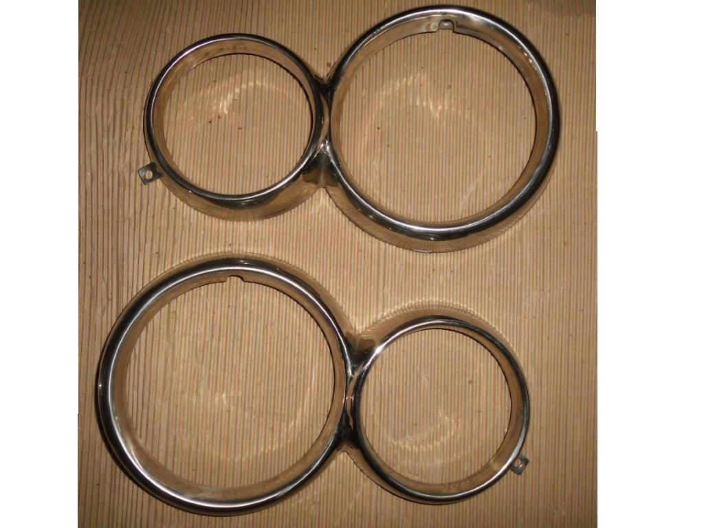 GIULIA Windows Chrome Frames & Headlamp Rings For Sale (picture 1 of 5)