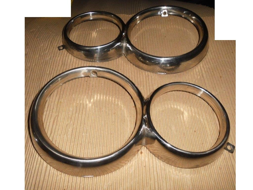 GIULIA Windows Chrome Frames & Headlamp Rings For Sale (picture 4 of 5)