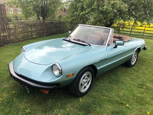 1982 Alfa Spider Veloce, California car, One owner. For Sale