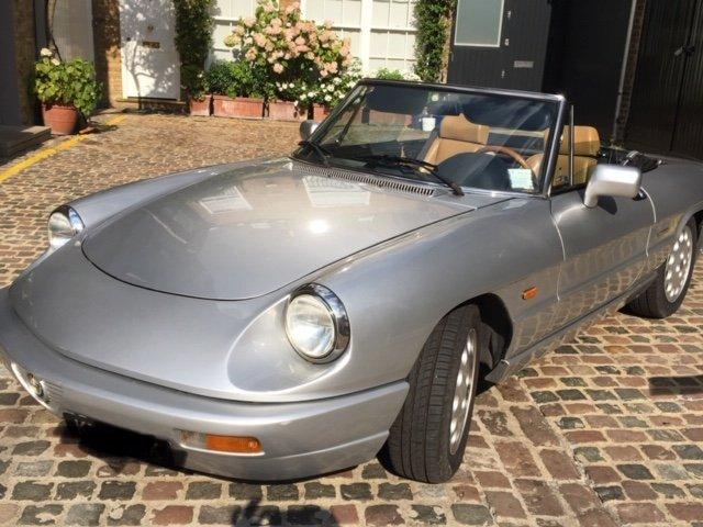 1993 Alfa Spider 2.0L For Sale (picture 1 of 6)