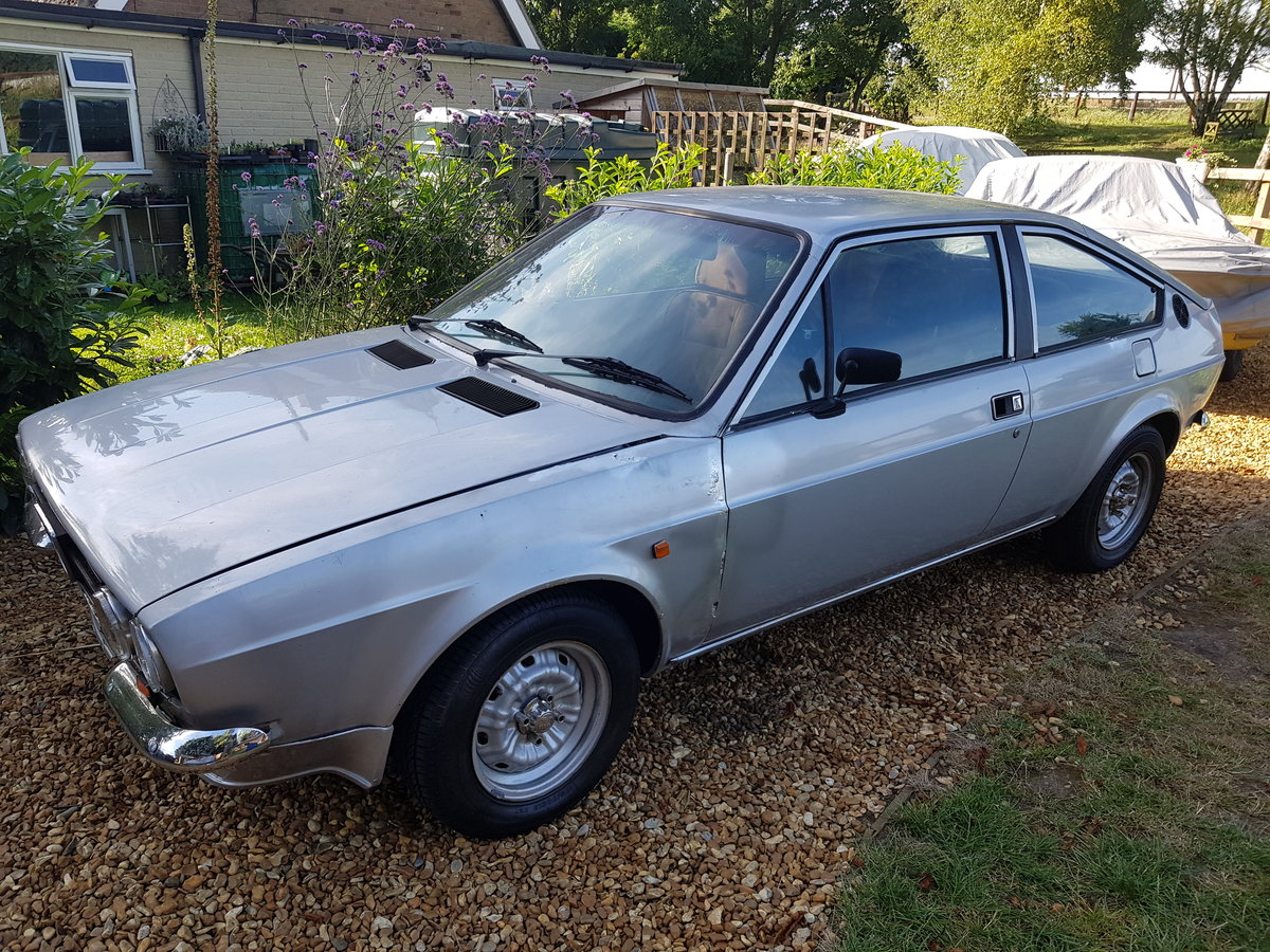 1981 alfa romeo sprint veloce rhd import project  For Sale (picture 1 of 6)