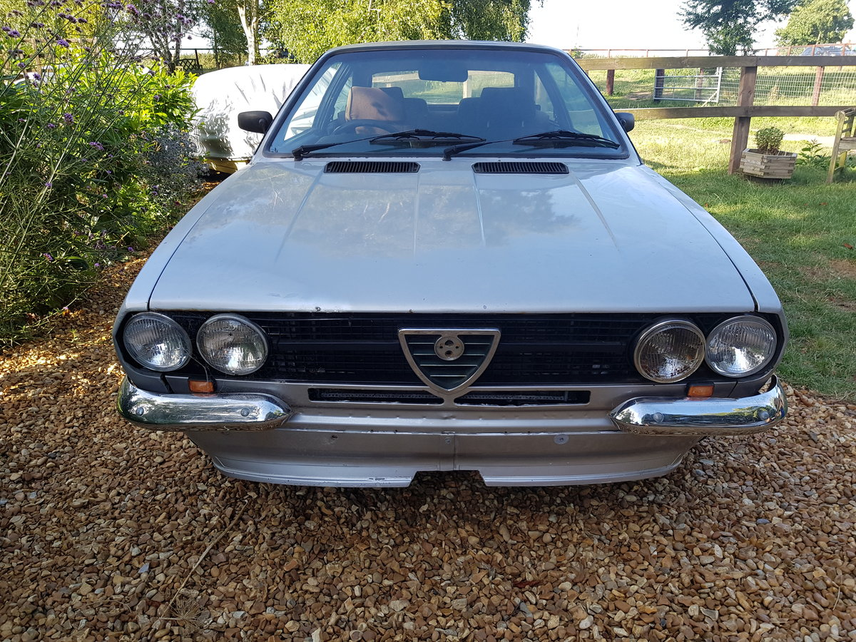 1981 alfa romeo sprint veloce rhd import project  For Sale (picture 2 of 6)