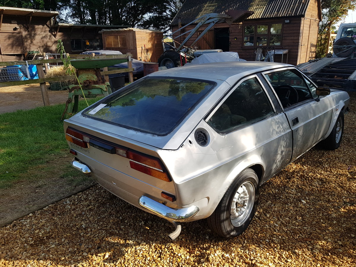 1981 alfa romeo sprint veloce rhd import project  For Sale (picture 3 of 6)