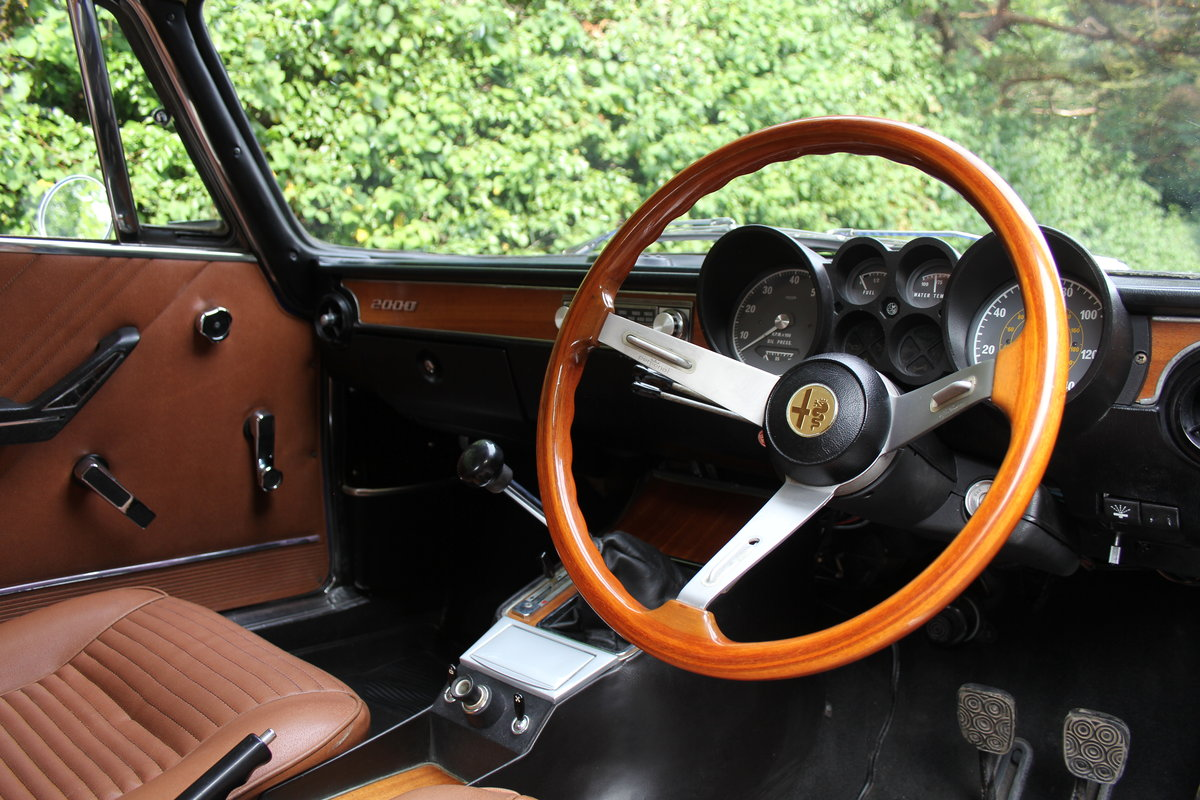 1974 Alfa Romeo 2000 GT Veloce - UK Car - 54,000 miles  SOLD (picture 7 of 20)