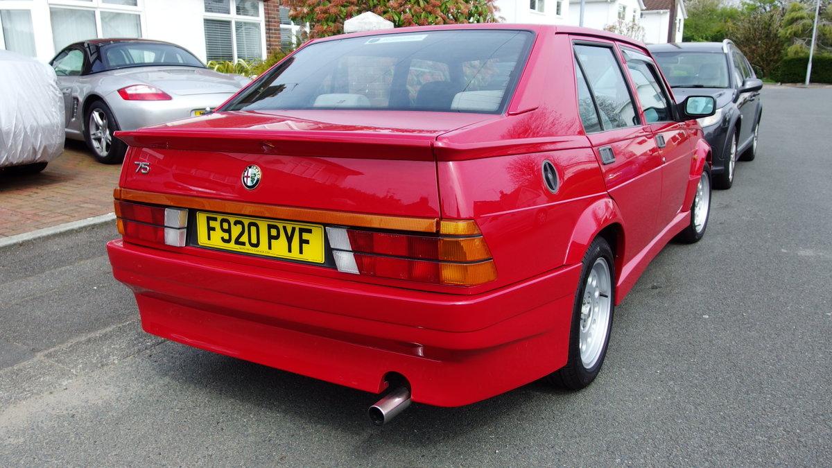 1988 Alfa Romeo 75 3.0 6V Veloce For Sale (picture 2 of 6)
