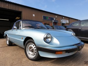 1983 Alfa Romeo Spider 1600 S3 For Sale