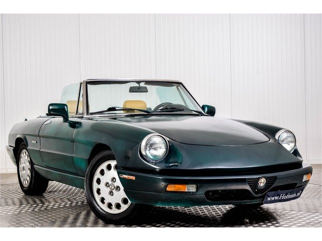 1991 Alfa Romeo Spider 2.0i For Sale (picture 3 of 6)