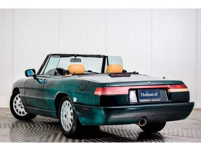 1991 Alfa Romeo Spider 2.0i For Sale (picture 4 of 6)
