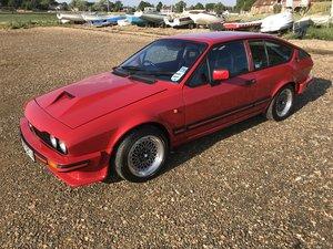 1983 Alfa Romeo Alfetta GTV6 3.0  SOLD