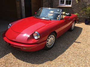 1991 Alfa Romeo Spider Series 4, LHD