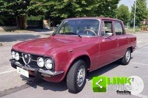 ALFA ROMEO GIULIA NUOVA SUPER 1300 DEL 1975 ISCRITTA ASI PO For Sale