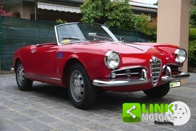 Alfa Romeo Giulietta Spider Prima serie passo corto - 1957 For Sale (picture 1 of 6)