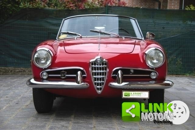 Alfa Romeo Giulietta Spider Prima serie passo corto - 1957 For Sale (picture 2 of 6)