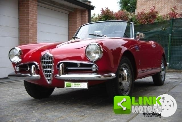 Alfa Romeo Giulietta Spider Prima serie passo corto - 1957 For Sale (picture 3 of 6)