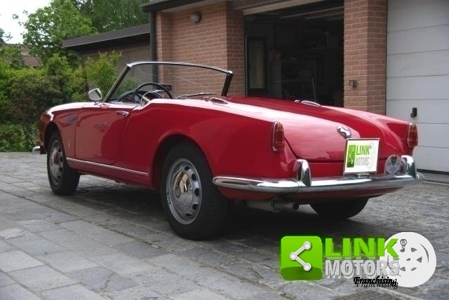 Alfa Romeo Giulietta Spider Prima serie passo corto - 1957 For Sale (picture 4 of 6)