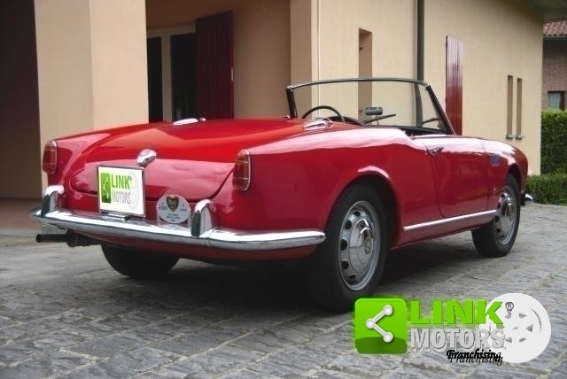 Alfa Romeo Giulietta Spider Prima serie passo corto - 1957 For Sale (picture 6 of 6)