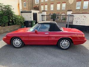 1991 Alfa Romeo Spider S4 For Sale