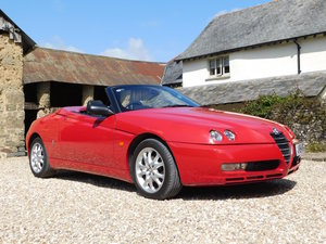2004 Alfa Romeo Spider 2.0JTS Lusso - 41k miles, excellent SOLD