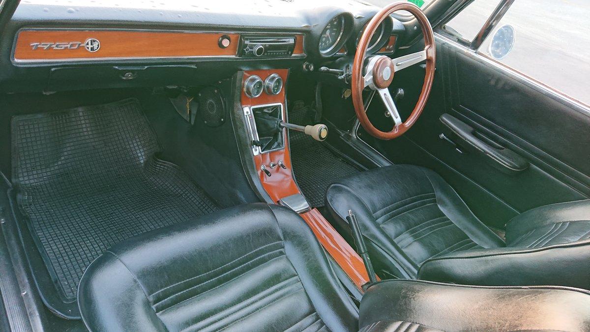 1971 Alfa romeo 1750 gtv veloce mk2 coupe rhd SOLD (picture 5 of 6)