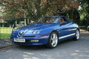 1999 Alfa Romeo 916 GTV Spider Lusso Full MOT rare blue